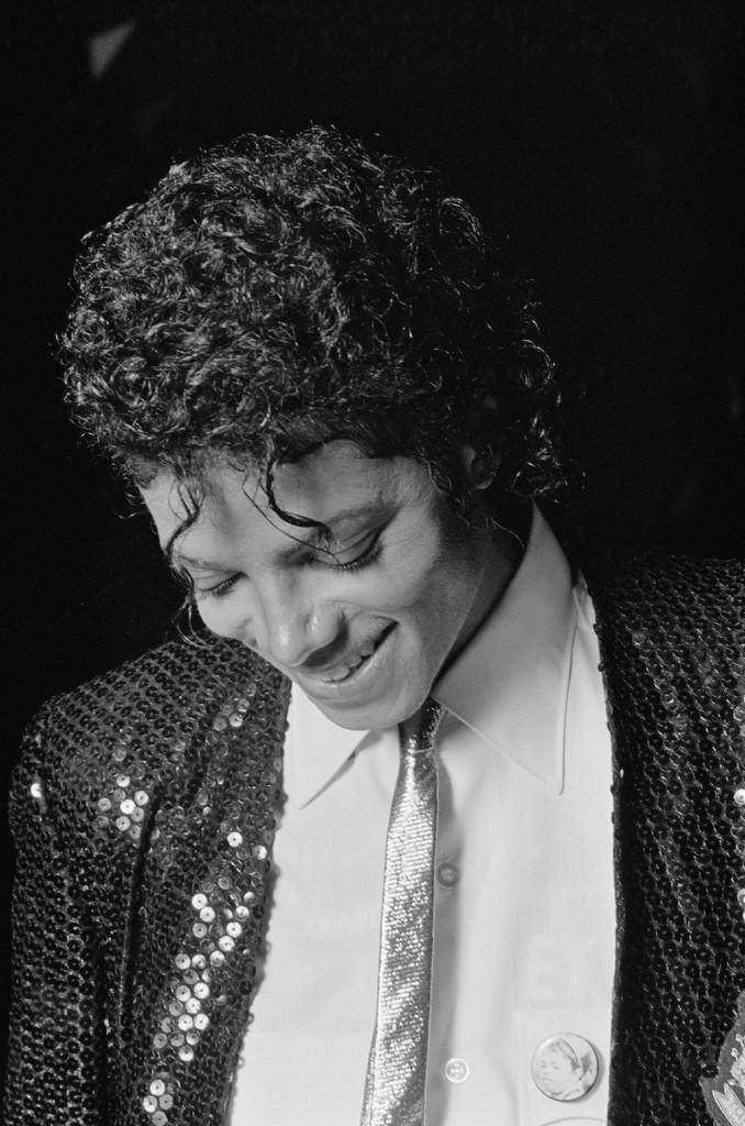 Michael Jackson Smiling