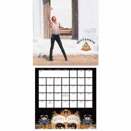 Michael Jackson Official 2017 Calendar page 2
