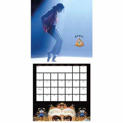 Michael Jackson Official 2017 Calendar page