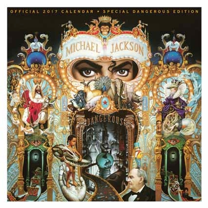 Michael Jackson Official 2017 Calendar